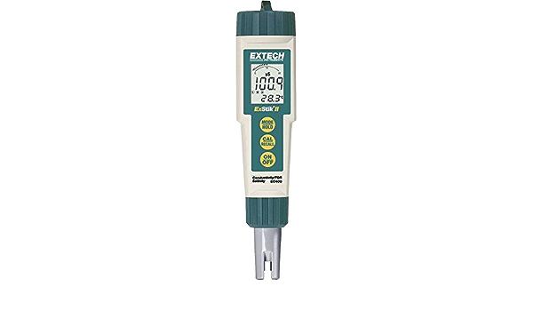 Extech Ec400 Kombi Messgerät Gelöste Teilchen Tds Leitfähigkeit Salinität Temperatur Gewerbe Industrie Wissenschaft