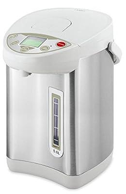 Thermo Pot 5l Bouilloire Bouilloire Bouilloire Dispender vin chaud Bouilloire 360°