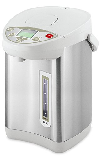 Thermo Pot 5 L Wasserkocher Wasserkessel Teekocher Dispender Glühweinkocher 360°