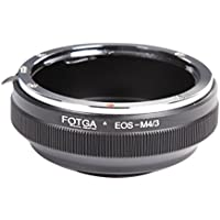 Fotga EOS-M4/3 Metal Lens Adapter for Canon EOS EF Lens to Olympus Panasonic Micro 4/3 M4/3 …