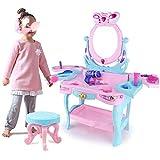 QinWenYan Vector De Preparación De Los Niños Princesa Traje De Casa De Muñecas Armario Chica Simulación De...