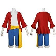 One Piece Monkey D. Luffy Cosplay traje Ver 2st  45651a4365e