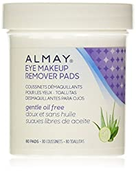 Almay Gentle Eye Makeup Remover Pads Oil Free -- 80 Pads