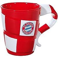 FC Bayern München - Tazza motivo sciarpa in confezione regalo, in porcellana