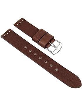 Minott Ersatzband Uhrenarmband XXL Leder Band 22mm