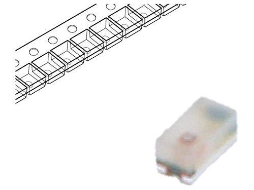 8x HSMY-C280 LED SMD 0402 yellow 2.8-8mcd 1x0.5x0.4mm 130° 2.1÷2.6V