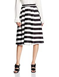 New Look Women's Bold Stripe Skirt