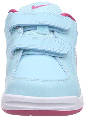 Nike Pico 4 GTV  Scarpe Sportive, Unisex Bambino Blu / Rosa / Bianco (Copa / Vivid Pink-White)