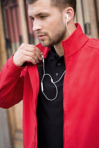 B&C Collecton - Blouson - Homme rouge profond