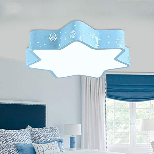 BAIJJ Deckenleuchte Snow Kinderzimmer Deckenleuchte Creative Cartoon Cute Eye Star Lichter Junge Mädchen Schlafzimmer Lampen