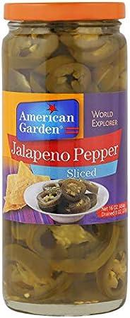 American Garden Jalapeno Sliced Pepper, 454 gm