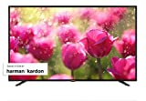 SHARP 4K Ultra HD Smart LED TV, 102 cm (40 Zoll), Harman/Kardon Soundsystem, 3 HDMI Anschlüsse, LC-40UI7352E, Schwarz, [Energieklasse A]