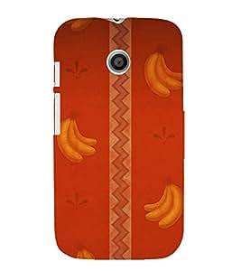printtech Abstract Design Banana Back Case Cover for Motorola Moto E XT1021 / Motorola Moto E (1st Gen)