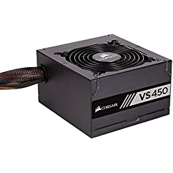 Corsair CP-9020170-UK 450W Certified Power Supply (Black)
