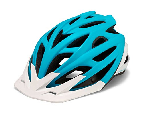 Cannondale Radius MTB Fahrrad Helm türkis/weiß 2017: Größe: S/M (52-58cm)