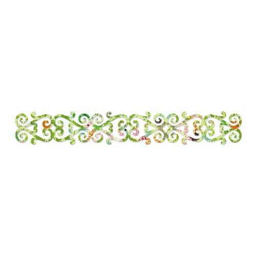 Fustella fustelle Decorativa Sizzlits cuori bordo bordi decorazioni strip striscia 658000 Big Shot