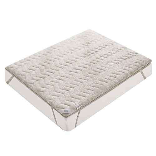 MMM- Verdickungsmatte Polyester 1,8 m / 1,5 m Doppel 1,2 m / 0,9 mt Einzelbett Schutz Pad Feuchtigkeitsspendende Atmungsaktive Durable ( größe : 120*200cm(4 feet) )