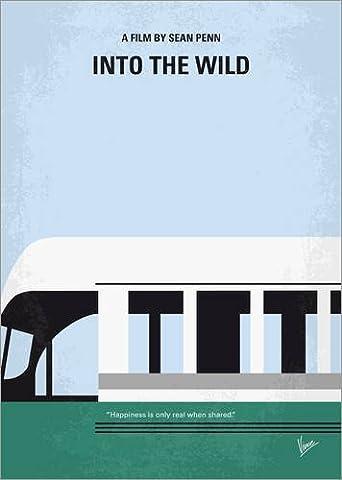 Poster 30 x 40 cm: No677 My Into the Wild minimal movie poster de chungkong - reproduction haut de gamme, nouveau poster