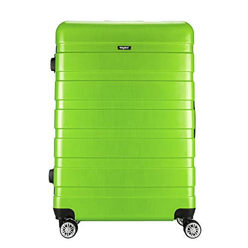 Sunydeal® Reisekoffer Koffer Trolley Hartschalenkoffer mit TSA Zahlenschloss 28