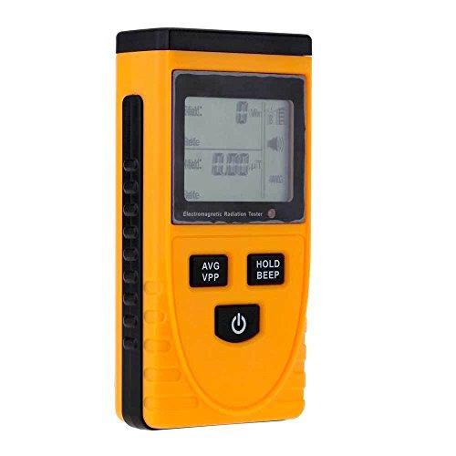 Rauchmelder Tester Monitor elektromagnetische Strahlung Magnetfelder + Batterie