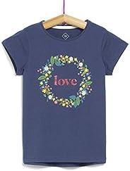 TEX - Camiseta de Manga Corta para Niña