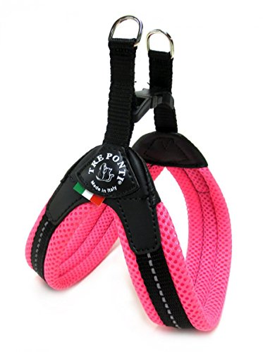 Tre Ponti TF224A Easy Fit Mesh Fix Neon, Taglia 3, Rosa