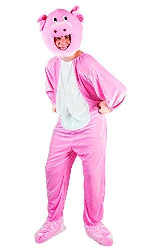 enenkostüm Schwein Maskottchen, XL (Schwein Maskottchen Kostüm)