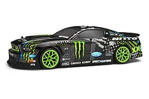 HPI Racing H111664 - E10 Drift mit Vaughn Gittin Jr Monster Energy Ford Mustang 2013 Karosserie