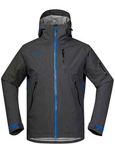 Bergans Haglebu Insulated Jacket Men - Warme Wintersportjacke Black/Blue