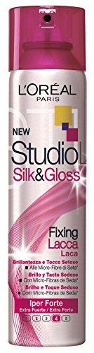 studio line silk&gloss spray fissante tenuta iperforte 250 ml
