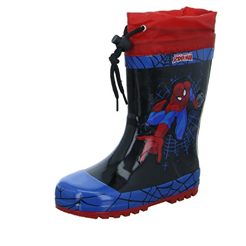 Spiderman SP004526-CL9 Jungen Regenstiefel, Größe (Schuhe Kinder Spiderman Für)