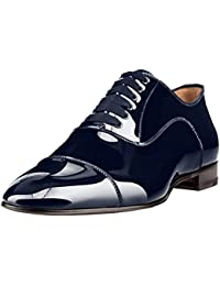 Cuckoo Slip On Oxford Shoes Mens Black Loafers Dress Shoes