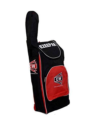 3M CW ezeepak Individuelle Polyester Wasserabweisender Full Größe Duffel Standard Limited Addition Fresh Lager Schwarz Rot Zip Näher Rucksack Sports Cricket Kit Bag