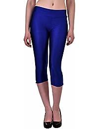 N-Gal Women's Ankle-Zip Short Leggings, NY2411