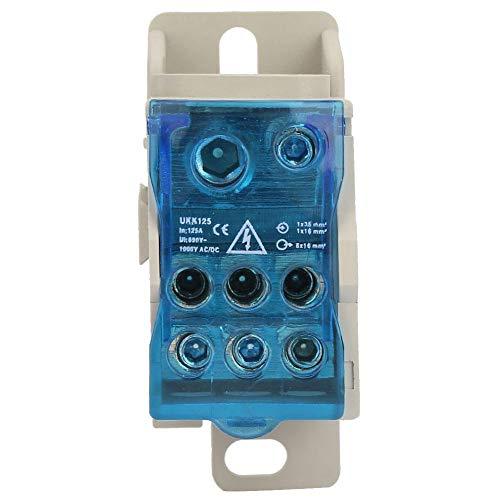 Nitrip Din Rail Terminal Block Verteilerkasten Elektrokabelverbinder Universal Power Junction Box Power Junction Box