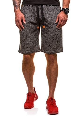 BOLF Herren Kurze Hose Trainingsshorts Trainingshose Fitnesshose Shorts Sporthose Freizeithose