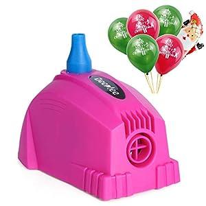 Deeplee Elektrische Luftballonpumpe,Aufblasgerät Ballonpumpe für Party, Geburtstag, Hochzeit und Festivaldekoration