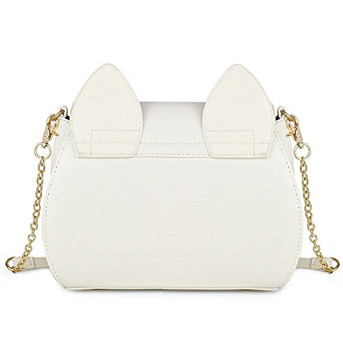 XY Fancy, Borsa a tracolla donna nero nero, nero (nero) - RH#BB1024-0307-RE06 bianco