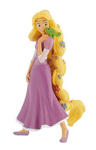 Bullyland 12424 - Disney Rapunzel mit Blumen Spielfigur, ca. 10 cm