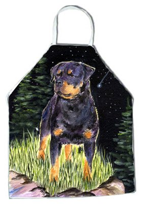Caroline's Treasures SS8475APRON Starry Night Rottweiler Apron, Large, Multicolor