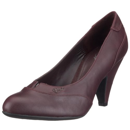 ESPRIT Alda Pump Z 10400, Damen Pumps, violett, (dark bordeaux 604), EU 38