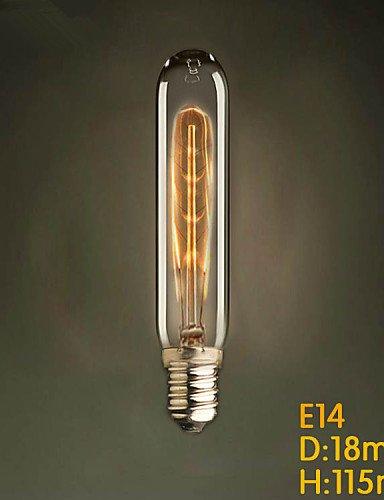 fj-e1440W T22Test Tube Edison Glühbirne Kleine Lo für Industrie Anhänger Lampe, warm white-220–240V