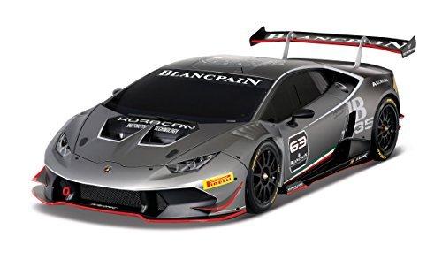 Maisto 81181 - 1:24 R/C Lamborghini Huracan LP 620-2 Super Trofeo, grau