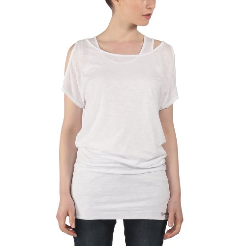 Bench T-shirt Emsworth B - T-shirt de Maternité - Femme Blanc (Bright White)