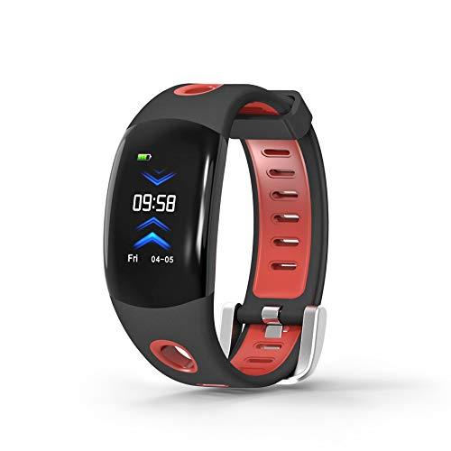 ZYWTZ® DM11 Farbdisplay Intelligentes Armband 3dUI Überwachung Der Herzfrequenz IP68 Wasserdichtes Sportarmband,Red