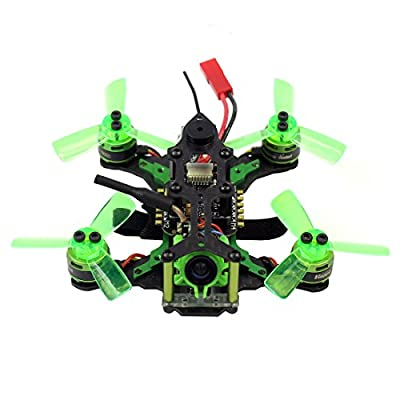 GEHOO GH Mantis85 Micro Racing Drone FPV Quadcopter BNF with 600TVL Camera VTX & Double Antenna 3 Inch Mini Video Goggles for Flysky