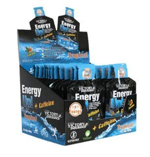 Victory Endurance Gel Energy Up 24 x 40g Tropical