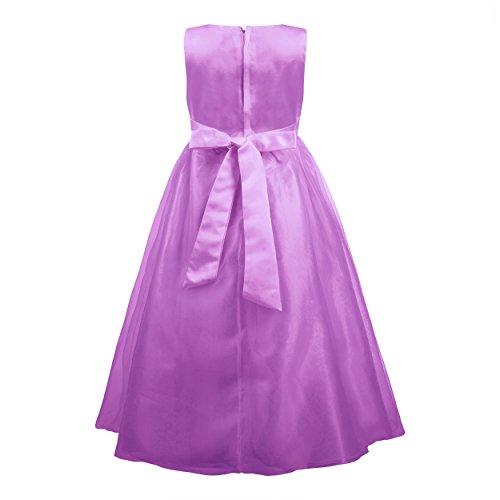 Imagen de katara  la niña de las flores, vestido de noche para niños de 8 10 años, color violeta alternativa