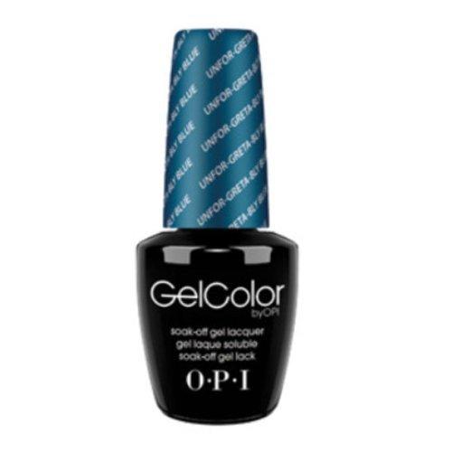 OPI GEL COLOR- Unfor-greta-bly Blue G24