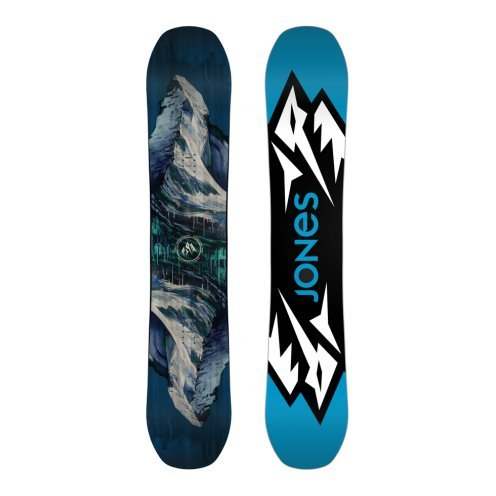 Jones-Planche-De-Snowboard-Mountain-Twin-Homme-Bleu
